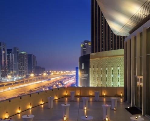 THE ADDRESS DUBAI MARINA DUBAI Ballroom terrace