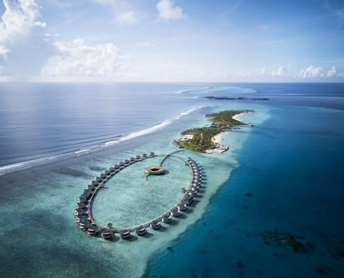 The Ritz-Carlton Maldives, Fari Islands - Aerial