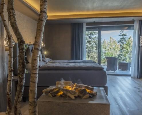 Suite con terrazzo  - angolo notte